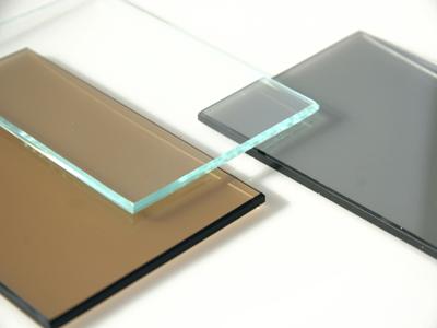Цветное тонированное стекло