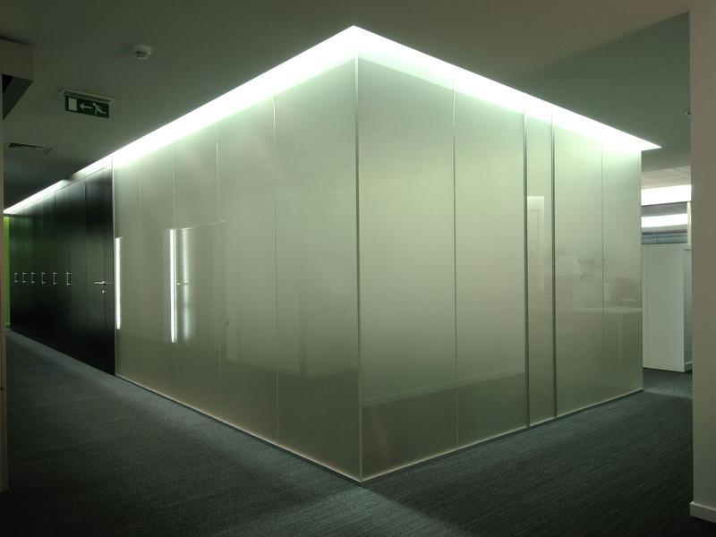 Матовое стекло триплекс
